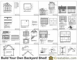 Storage Building Floor Plans 12x16 Shed Plans With Dormer Icreatables Com