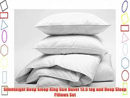 Duvet 13 5 Tog Silentnight Deep Sleep King Size Duvet 13 5 Tog And Deep Sleep
