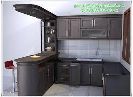 desain kitchen set minimalis modern desain kitchen set toko mebel minimalis fruniture jepara