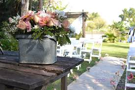 kara u0027s party ideas shabby chic outdoor wedding