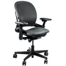 steelcase leap v1 series multi function grey fabric task chair