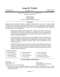 federal resumes accounting manager resume accounting manager federal resume