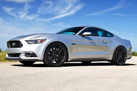 Silver Mustang Black Wheels Velgen Vmb6 Wheels Satin Black Rims