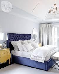Blue Bed Frame Blue Bed White Bed