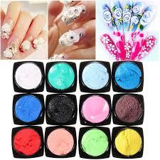 amazon com uv gel nail polish dancingnail 12 colors nail glitter