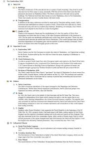 outline samples for an essay use these social studies examples to integrate inspiration into world history analysis outline new amsterdam 162