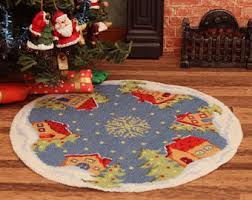 innovative decoration tree skirt kits kit etsy