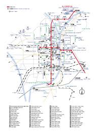 Metro Map Tokyo Pdf by Large Kyoto Maps For Free Download And Print High Resolution And