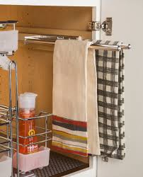 Hafele Cabinet Storage Towel Rack Contemporary Kitchen New - Kitchen cabinet towel rack