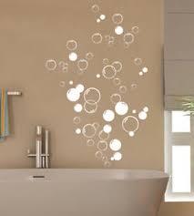 90x bubbles bathroom vinyl wall stickers shower door home diy