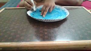 how to make clock with paper plate craft with paper plate easy