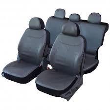siege en housses de siège en simili cuir gris 1 3 2 3 spécial 4x4 suv ventoo fr