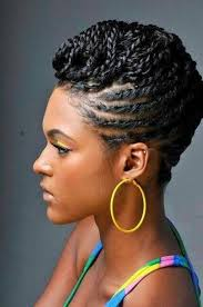 images of black braided bunstyle with bangs in back hairstyle 25 updo hairstyles for black women