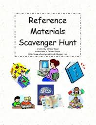 reference materials scavenger hunt internet students and gaming
