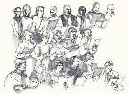 concert rehearsal urban sketchers