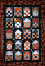 a little bit biased haunted house quilt
