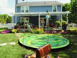 backyard splash pad u2013 the perfect summer fun for the kids