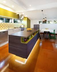 green kitchen canisters kitchen contemporary with open shelving