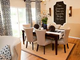 Our Fave Colorful Dining Rooms Living Room And Dining Room Cheap - Hgtv dining room