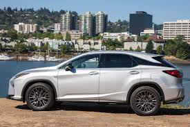 lexus crossover 2016 lexus rx 350 f sport review plush luxury with useless sport