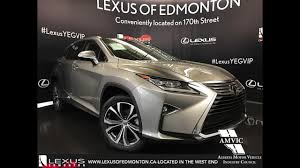 lexus rx 350 2017 atomic silver lexus rx 350 awd executive walkaround review