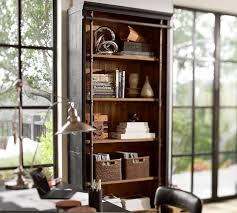 Pottery Barn Leaning Bookcase Pottery Barn Bookcases Roselawnlutheran