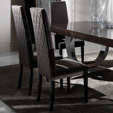 Contemporary Italian Dining Table Large Modern Italian Veneered Extendable Dining Table Set