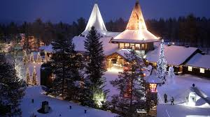 santa claus picture santa claus in lapland in the
