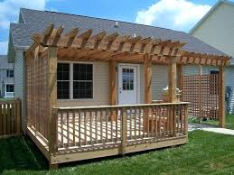 Easy Diy Pergola by Deck With Pergola And Fireplace Deck Pergola Plans Free Deck With