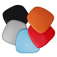 seat pad cushion for eames style plastic dining and armchair