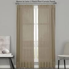 Sliding Patio Door Curtain Ideas Sliding Patio Door Curtains Ideas Soho Sheer Pinch Pleat Sliding