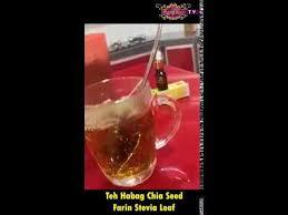 Teh Arab teh arab chia seed farin stevia leaf