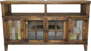Rustic Tv Console Table Distressed Tv Stand Aqua 4 Door Corner Chestcorner Tv Center