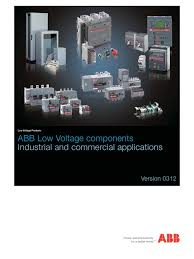 abb industrial catalogue 0312 relay power supply