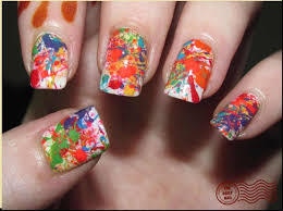 Gallery Of The Easy Nail Art Design Ideas Pretty Glitter Stripes - Easy nail designs to do at home