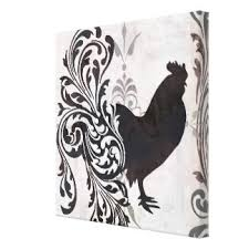 Black And White Rooster Decor Rooster Wall Decor Roselawnlutheran