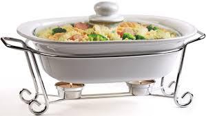circleware ceramic cookware chafer buffet server warmer baker
