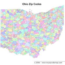 Ohio Map Us by Us Postal Service Zip Code Maps By County Zip Code Map Filezip