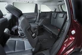 subaru forester interior 3rd row five most fuel efficient vehicles with third row seating