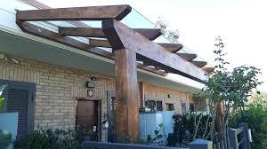 tettoie e pergolati in legno 37 tettoia in legno lamellare idees