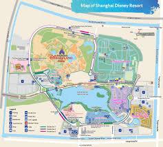 Disney World Parks Map Shanghai Disney Resort Park Hotel Restaurant Map Store