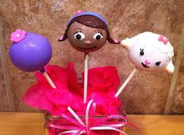 dr mcstuffin cake doc mcstuffins disney cake pops disney every day