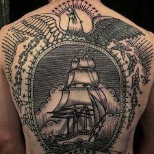 traditional back tattoo tattoos pinterest tattoo tatting