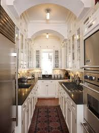 ideas for galley kitchen kitchen narrow galley kitchen kitchens ideas space flooring cheap
