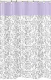 Yellow Damask Shower Curtain Purple U0026 Gray Silver Color Combo Love Pretty Shower Curtain
