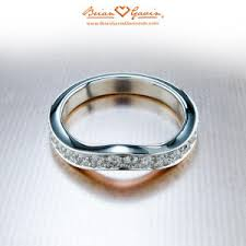 diamondless engagement rings should anniversary bands be or fitted