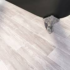 Black Tile Effect Laminate Flooring Bark Limed Wood Effect Tile 148mm X 498mm Victoriaplum Com