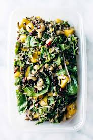 thanksgiving green salad recipes thanksgiving salad with wild rice and lemon dressing recipe