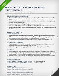 Educator Resume Sample by Resume Sample For Teachers Best Resume Collection
