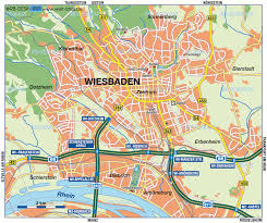 Darmstadt Germany Map by Wiesbaden Map
